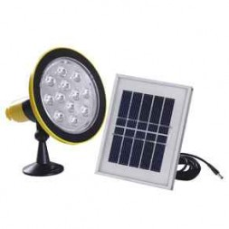 Solar Power Pack Torch Lamp