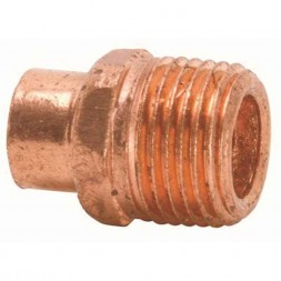 Copper Fittings Male Adapter Lead-Free