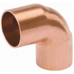 Copper Fittings Elbow-90* withStop C X C