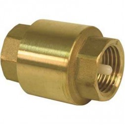 Brass 1/2 in. FIP Lead Free Check Valve In-Line