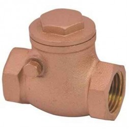1/2 in. FIP Lead Free Swing Check Valve with Brass Body-Threaded