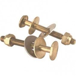 Johni-Bolts Style Solid Brass Closet Bolts