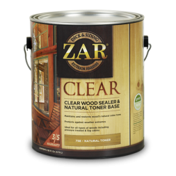 UGL-Zar Clear Wood Sealer and Natural Toner
