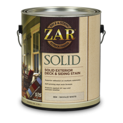 UGL-Zar Solid Color Deck and Siding Stain